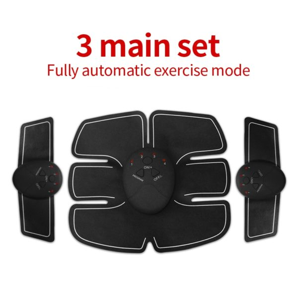 Ems Abdominal Muscle Trainer Abs Trainer Ems Hip Trainer Muscle Stimulator Abs Fitness Butt Waist And Thigh Trainer Men Women