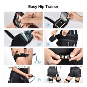 USB Rechargeable EMS Hips Stimulator Trainer Buttock Lift Up Massager ABS Buttocks Lifting Toner Hips Training Massager Body Fit