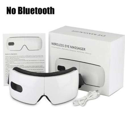 Smart Electric Eye Massager Hot Compress Massage Glasses Vibration Eyes Massage Care Device For Tired Eyes Eye Anti Wrinkles
